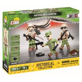 COBI Historical Collection WWII - Figurki Żołnierzy Afrika Korps 2050