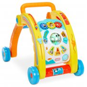 Little Tikes - Little Baby Bum Muzyczny Chodzik i Stół do zabawy 3w1 652547