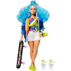 Barbie Extra - Moda Lalka i Zwierzątko + Akcesoria Nr 4 GRN30