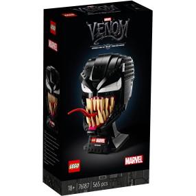 LEGO Marvel Spider-Man - Głowa Venom 76187