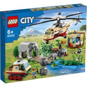 LEGO City - Na ratunek dzikim zwierzętom 60302