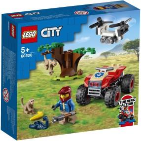 LEGO City - Quad ratowników dzikich zwierząt 60300