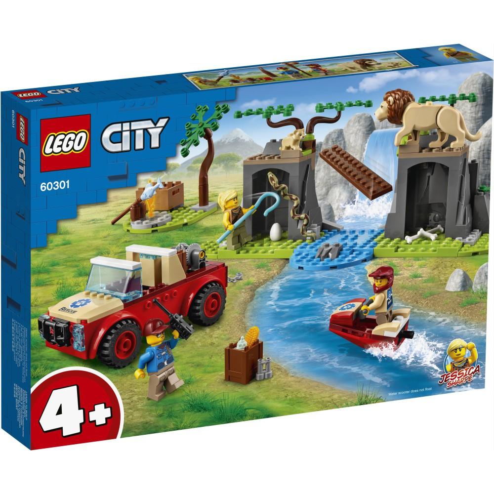 LEGO City - Terenówka ratowników dzikich zwierząt 60301
