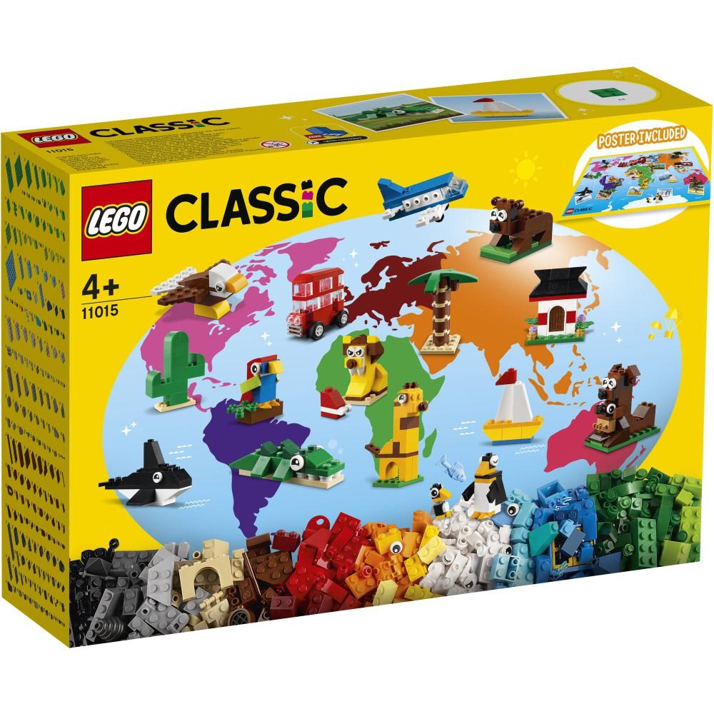 LEGO Classic - Dookoła świata 11015