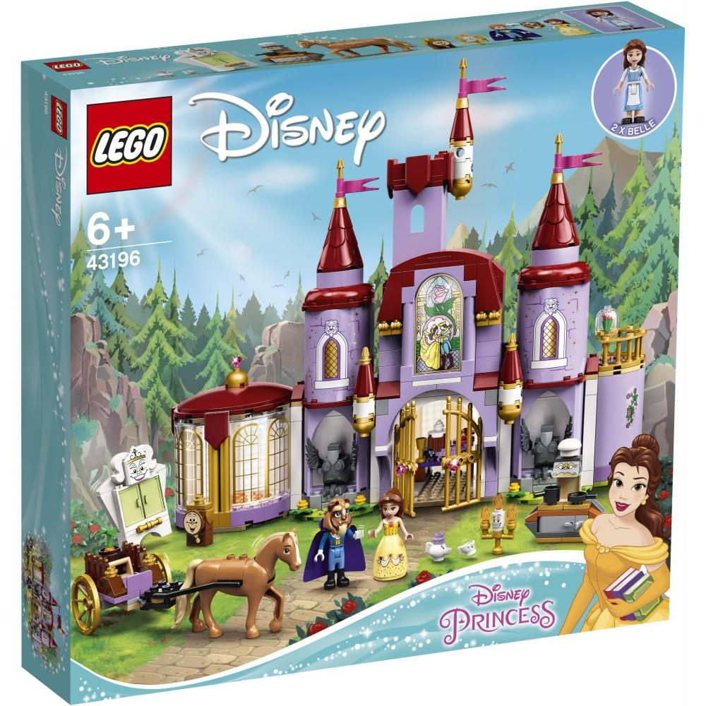 LEGO Disney Princess - Zamek Belli i Bestii 43196