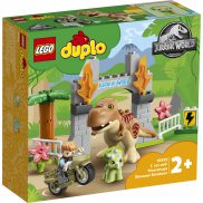 LEGO DUPLO Jurassic World - Ucieczka tyranozaura i triceratopsa 10939