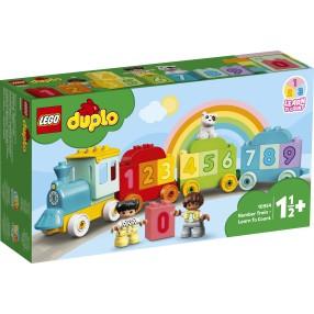 LEGO DUPLO My First - Pociąg z cyferkami - nauka liczenia 10954