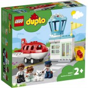 LEGO DUPLO Town - Samolot i lotnisko 10961