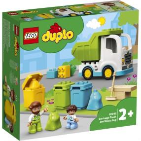 LEGO DUPLO Town - Śmieciarka i recykling 10945