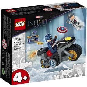 LEGO Super Heroes - Kapitan Ameryka i pojedynek z Hydrą 76189