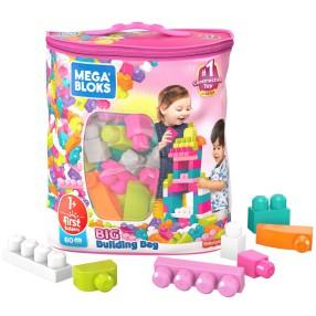 Mega Bloks First Builders - Duża ECO torba z klockami 80 szt. DCH62