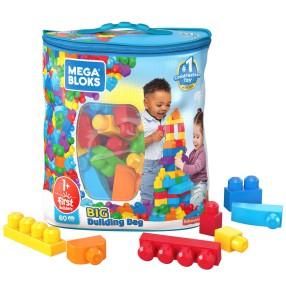 Mega Bloks First Builders - Duża ECO torba z klockami 80 szt. DCH63