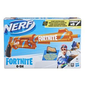 Hasbro Nerf - Wyrzutnia Fortnite 6-SH + 6 strzałek F2678