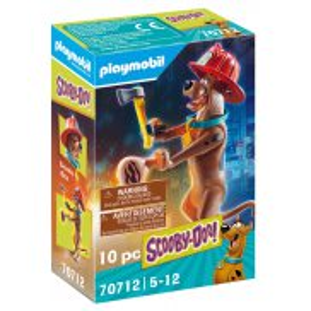 Playmobil - SCOOBY-DOO! Strażak 70712