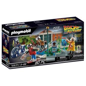 Playmobil - Powrót do przyszłości - Back to the Future II Pościg na deskolotce 70634