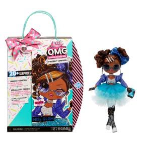 L.O.L. SURPRISE - Lalka O.M.G. Present Surprise Urodzinowa Miss Glam LOL OMG Birthday Doll 576365