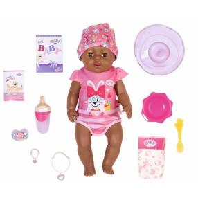 BABY born - Lalka interaktywna Soft Touch Magiczna Dziewczynka Etniczna 43 cm 827970
