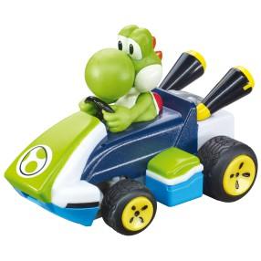 Carrera RC - Mario Kart Mini RC, Yoshi 2.4GHz 430004