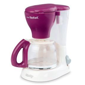 Smoby - Ekspres do kawy mini Tefal biało - fioletowy 310506