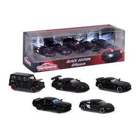Majorette - Zestaw Samochodów Black Edition 5-pak 2053174