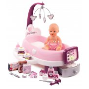 Smoby Baby Nurse - Elektroniczny Kącik Opiekunki + Lalka 220347
