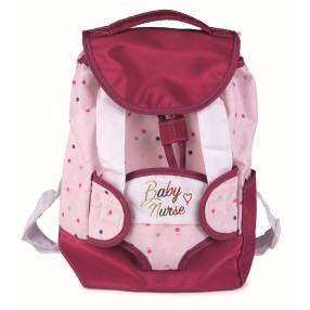 Smoby Baby Nurse - Plecak z nosidełkiem dla lalki 220364
