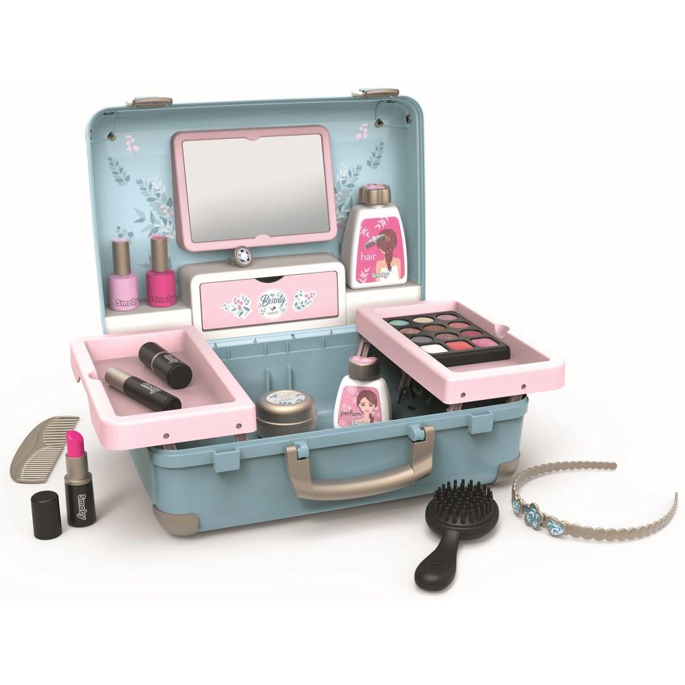 Smoby My Beauty - Zestaw Salon Urody Walizka + 13 Akcesoriów 320148