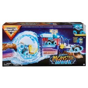 Spin Master Monster Jam - Zestaw Supermyjnia + Superterenówka Megalodon 6060518