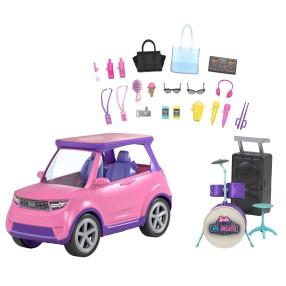 Barbie Big City, Big Dreams - Samochód Koncertowa Scena 2w1 GYJ25