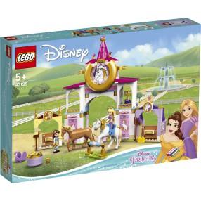 LEGO Disney Princess - Królewskie stajnie Belli i Roszpunki 43195