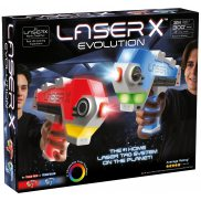 Laser X Evolution - Pistolet na podczerwień Blaster Zestaw Podwójny LAS88908
