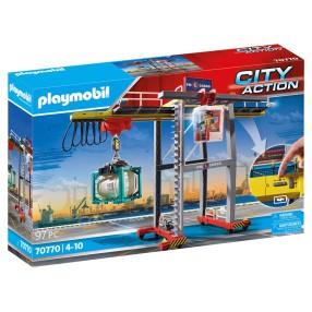 Playmobil - Suwnica z kontenerami 70770