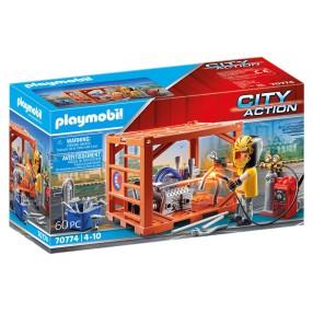 Playmobil - Produkcja kontenerów 70774