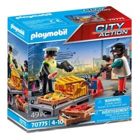 Playmobil - Kontrola celna 70775