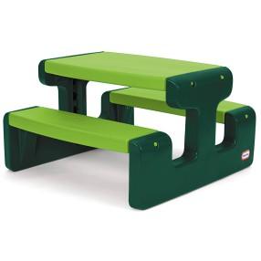 Little Tikes - Stolik piknikowy zielony Go Green 174131