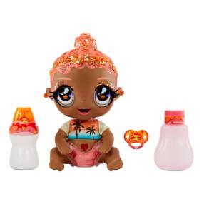Glitter Babyz - Błyszcząca Lalka Solana Sunburst Magiczna zmiana koloru 577294