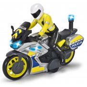 Dickie - Motocykl Policyjny Światło Dźwięk 3712018