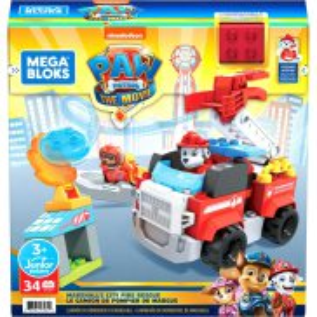 Mega Bloks Junior Builders - Psi Patrol Wóz strażacki Marshalla GYJ01