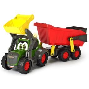 Dickie ABC Happy - Traktor z przyczepą Fendt Światło Dźwięk 4119000