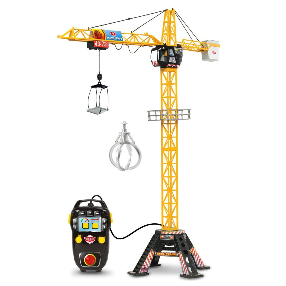 Dickie Construction - Dźwig Mega żuraw zdalnie sterowany 120 cm 3462412