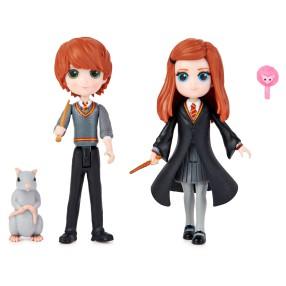 Harry Potter - Wizarding World Figurki 2-pak Ron i Ginny Weasley 6061834