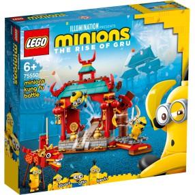 LEGO Minionki - Minionki i walka kung-fu 75550