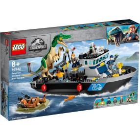 LEGO Jurassic World - Barionyks i ucieczka łodzią 76942