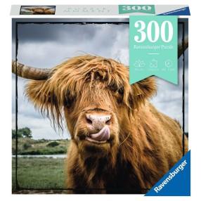 Ravensburger - Puzzle Moment Szkocka krowa 300 elem. 132737