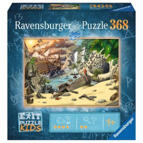 Ravensburger - Puzzle Exit Kids Przygoda Piratów 368 elem. 129546