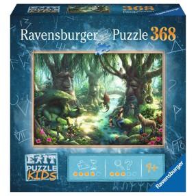Ravensburger - Puzzle Exit Kids Magiczny las 368 elem. 129553