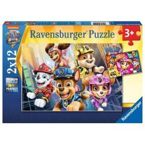 Ravensburger - Puzzle Psi Patrol Film 2 x 12 elem. 051519