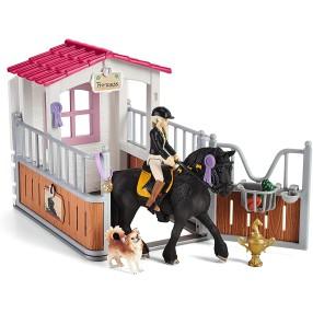 Schleich - Boks stajenny Zagroda dla koni Tori i Princess 42437