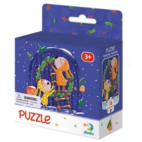 Dodo - Puzzle Wyczekując Świąt 16 el. 300263