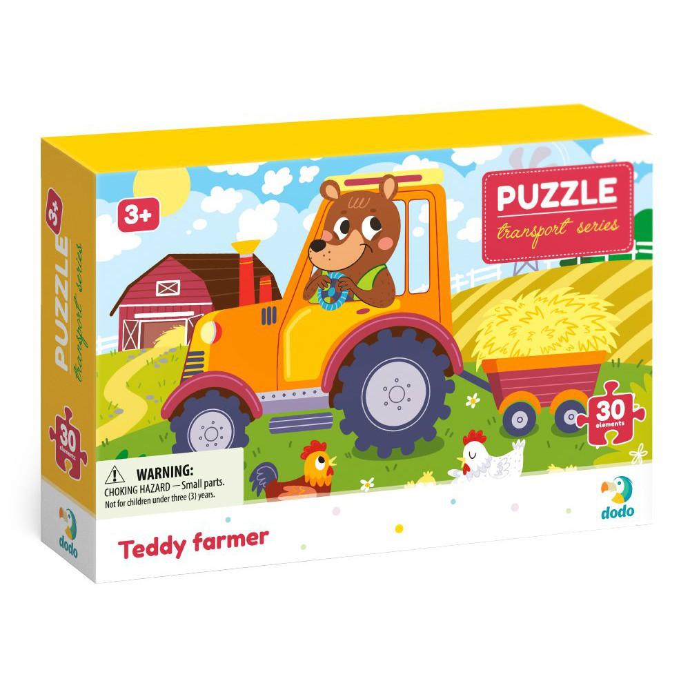 Dodo - Puzzle Profesje Farmer Teddy 30 el. 300371